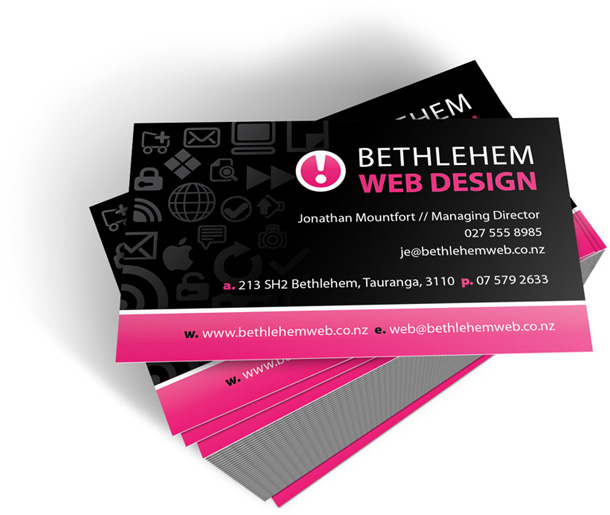 Business cards envisage web print brand graphic designer drop dead gorgeous is what our client said when they took delivery of their new business cards last week reheart Image collections