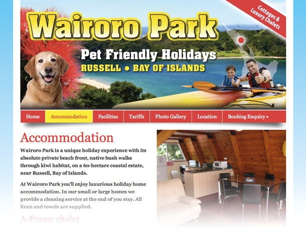 tourism design holiday park